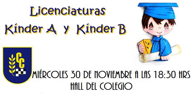 Licenciatura Kínder 2016