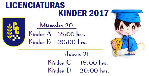 Licenciatura-Kínder-2017